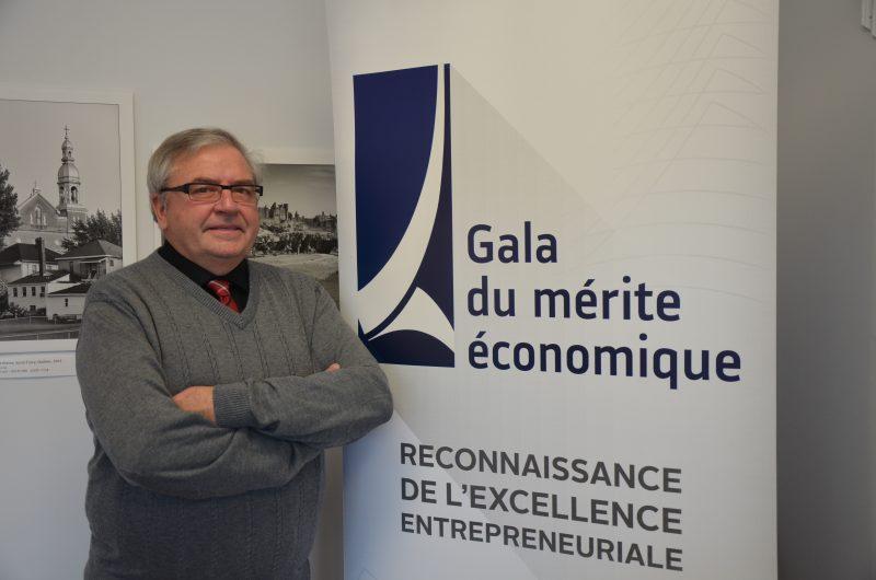 Jean-Charles Caron est le président d'honneur du 32e Gala du mérite économique. | TC Média – Jonathan Tremblay