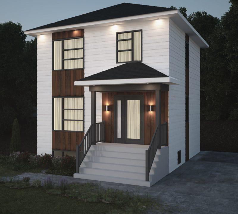 Depuis quelques mois, l'entrepreneur a dévoilé les maquettes des résidences qui seront construites à Sain-Roch-de-Richelieu. | Gracieuseté