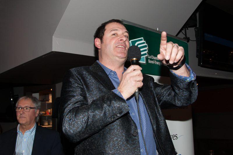 Alain Chalifoux, lors du lancement du 24 février dernier. | Photo:TC Média - Pascal Cournoyer