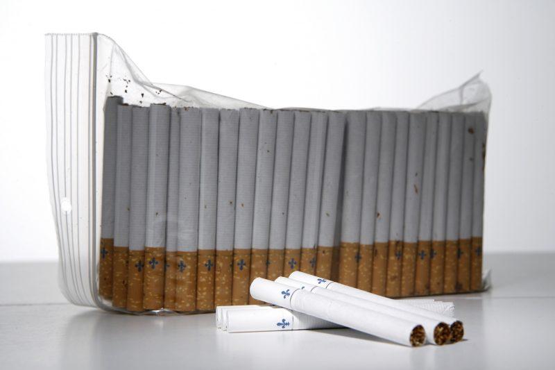 La Régie intermunicipale de police Richelieu-Saint-Laurent (RIPRSL) a perquisitionné, jeudi, 3600 cigarettes de contrebande sur la rue L'Heureux, à Contrecœur. | TC Média - Archives