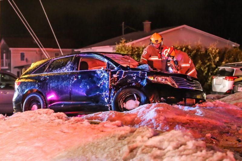 Les autorités ont reçu l'appel aux alentours de 22h. | Photo: TC Média: Pascal Cournoyer