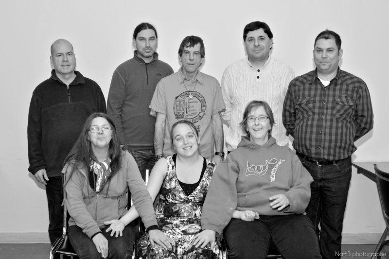 L'équipe des employés des Saveurs du marché | 2016 NathB photographe - tous droits réservés - www.nathb.ca