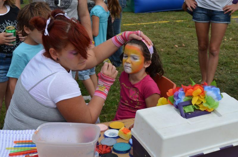 Plusieurs activités pour la famille sont prévues comme du maquillage pour les enfants. | Photo: Gracieuseté