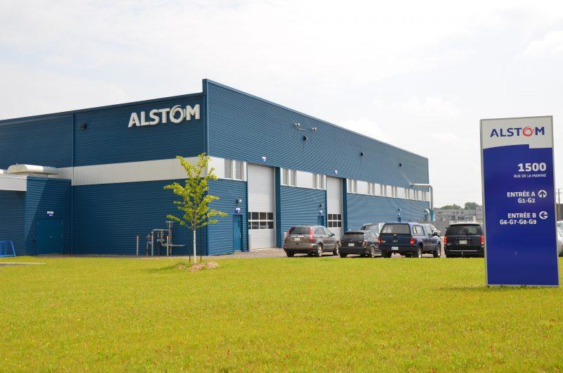 Alstom Transport est vivement intéressée à construire des bogies de wagons pour la phase II du Métro de Montréal, mais aussi pour le train électrique que construira la Caisse de Dépôts et de Placements du Québec. | TC Média - Archives