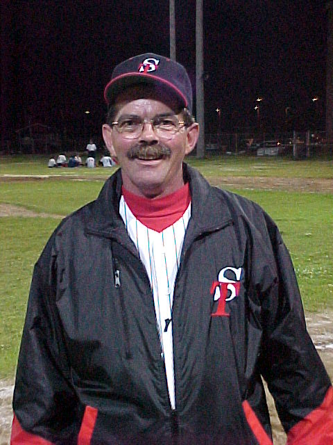 Donald Pelletier, à l'époque où il était entraîneur des Survenants de Sorel-Tracy au baseball. | Gracieuseté
