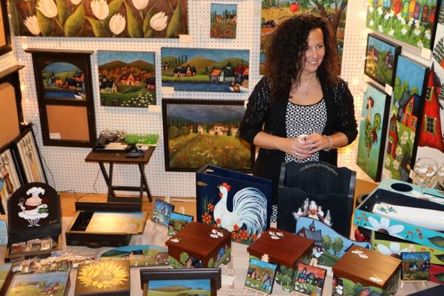 Entre 900 et 1000 personnes participent chaque année au Salon des métiers d'art de Saint-Ours.   Photos: Gracieuseté
