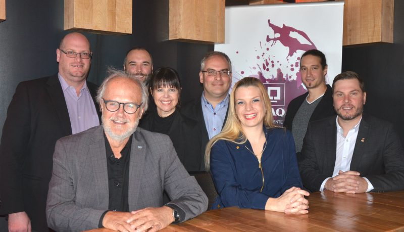 Plusieurs acteurs du milieu économique et de la santé s'impliquent dans le Salon des vins. | TC Média - Sarah-Eve Charland