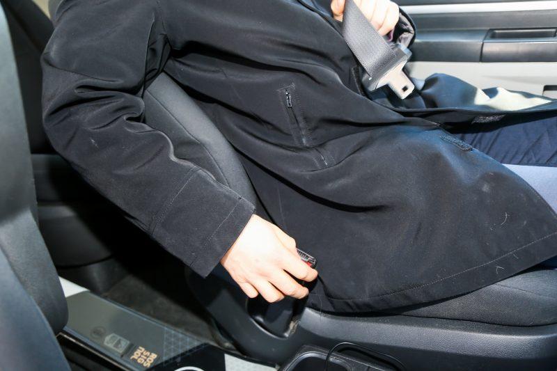 La SAAQ a lancé une campagne nationale de sensibilisation sur le port de la ceinture de sécurité le 27 mars. Elle se poursuivra jusqu'au 23 avril. | TC Média - Pascal Cournoyer