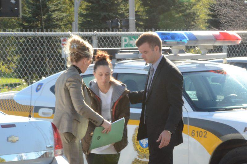 Sylvie Mongrain a été arrêtée en 2013. | TC Média - Jean-Philippe Morin