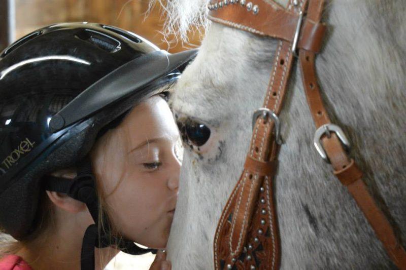 Apprivoiser son cheval est un grand plaisir. | Photo: TC Média – gracieuseté/Katerine Collette)