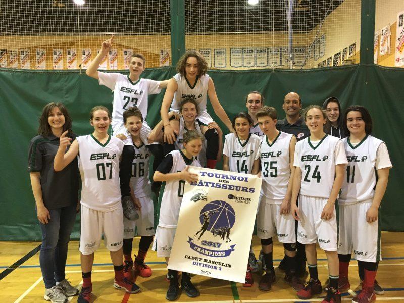 Les Polypus de l'ESFL sont en nomination pour l'équipe sportive de l'année. | Photo: Gracieuseté