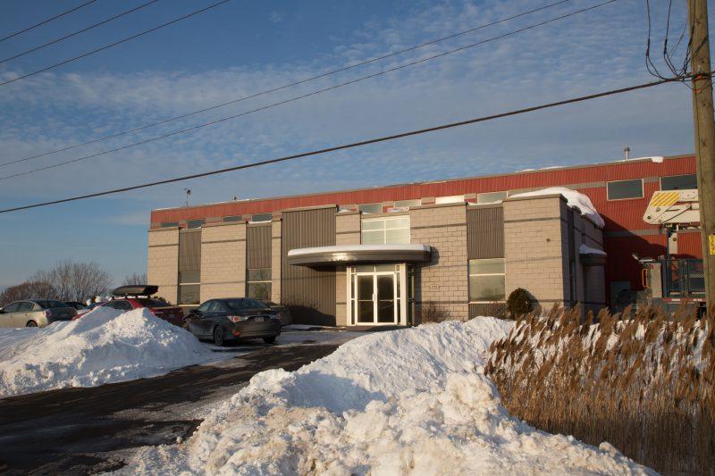 La nouvelle usine de l'entreprise Northex Environnement est la première au Québec dédiée au traitement des sols contaminés en métaux lourds. | Photo: TC Média – Pascal Cournoyer