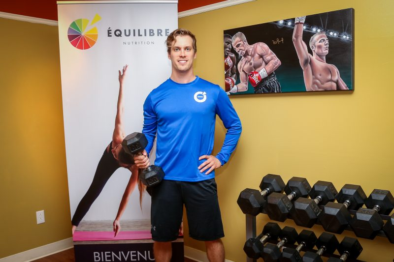 Le propriétaire d'Équilibre Nutrition, Jean-François Bélanger, lance sa plateforme d'entraînement, le 1er octobre prochain. | TC Média - Pascal Cournoyer