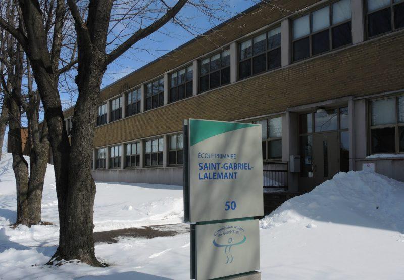 L'école primaire Saint-Gabriel-Lalemant est classée 9 sur l'échelle de défavorisation. | TC Média - Archives