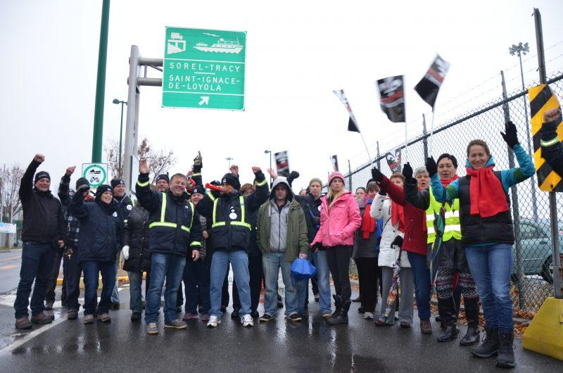 Les différentes institutions publiques de la région, comme le traversier, ne seront pas en grève les 1er, 2 et 3 décembre prochains. | TC Média - Sarah-Eve Charland
