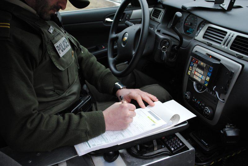 Les policiers de la Sûreté du Québec comptent intensifier leur présence sur les routes afin d'assurer la sécurité des citoyens. | Photo: TC Média – Stéphanie MacFarlane