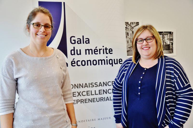 Les coprésidentes du prochain Gala du mérite économique, Éloïse et Sophie Paquin. | Photo: TC Média - Julie Lambert