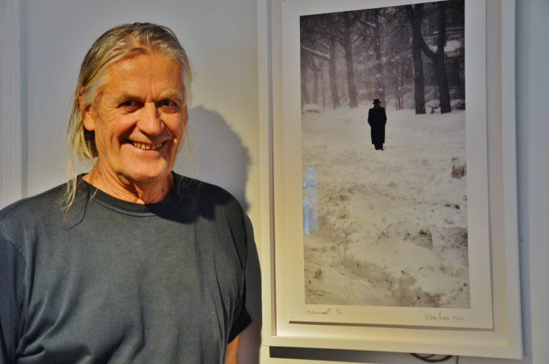 L'artiste multidisciplinaire Peter Gnass exposera à la Maison des gouverneurs jusqu'au 3 avril prochain. | Photo : TC Média- Julie Lambert