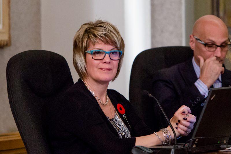Mme Sophie Chevalier est membre du conseil municipal de Sorel-Tracy, représentant le district  Bourgchemin du secteur Tracy.. | Photo: TC Média - Pascal Cournoyer