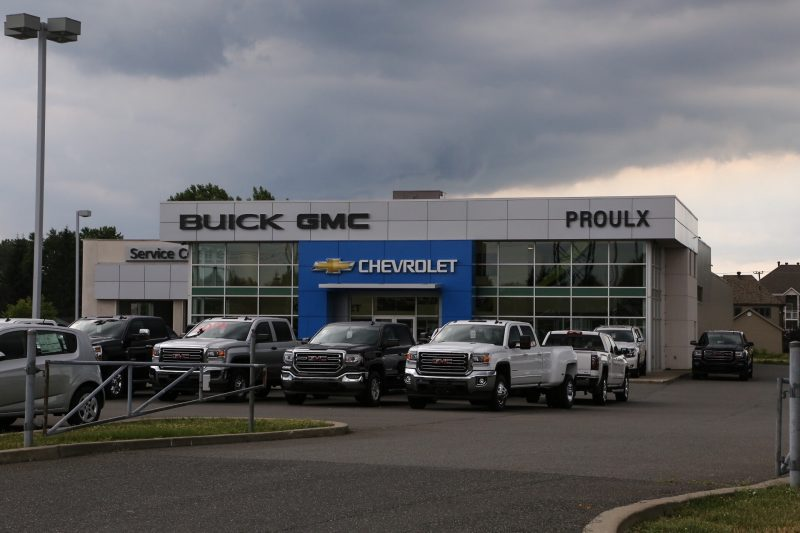 Paillé Chevrolet Buick GMC est situé sur la rue Saint-Laurent à Sorel-Tracy. | Photo: TC Média – Pascal Cournoyer
