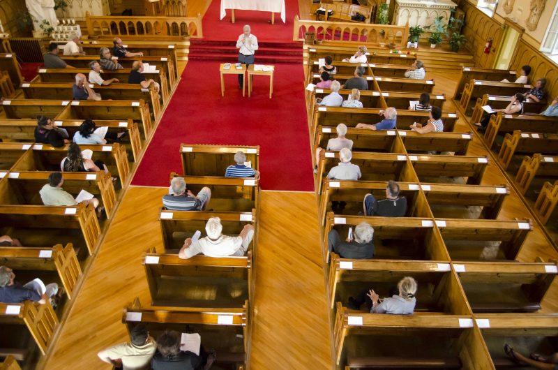 La rencontre d'information a été donnée à l'église de Sainte-Anne-de-Sorel, le 27 juin. | Photo: TC Média – Stéphane Martin