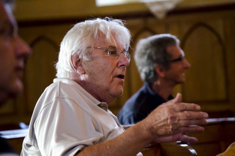 Le citoyen Alain Goulet a été le premier à faire valoir son mécontentement. | Photo: TC Média – Stéphane Martin