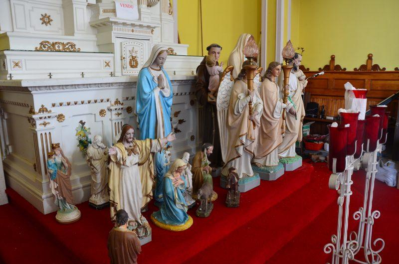 Un encan se déroulera le 6 août, dès 10h, dans l'église Saint-Gérard-Majella qui sera démolie dans les prochains mois. | TC Média - Sarah-Eve Charland