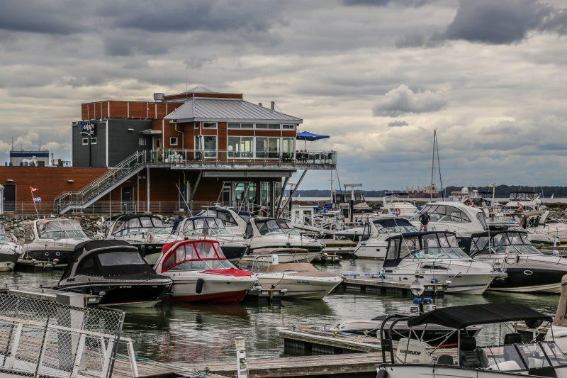 Plus de 400 bateaux sont saisonniers à l'une des deux marinas à Sorel-Tracy. | TC Média - Pascal Cournoyer