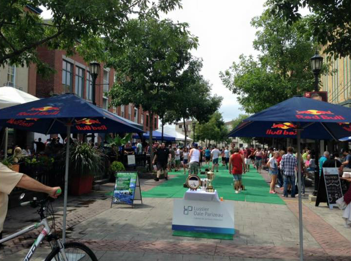 Le tournoi aura lieu, comme chaque année, sur l'allée piétonnière au centre-ville. | Photo: tirée de Facebook