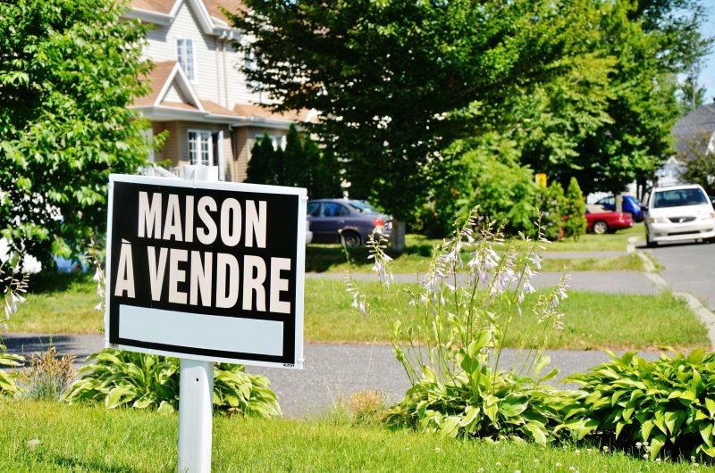 Selon plusieurs courtiers immobiliers, le marché semble reprendre du mieux. | TC Média - Julie Lambert