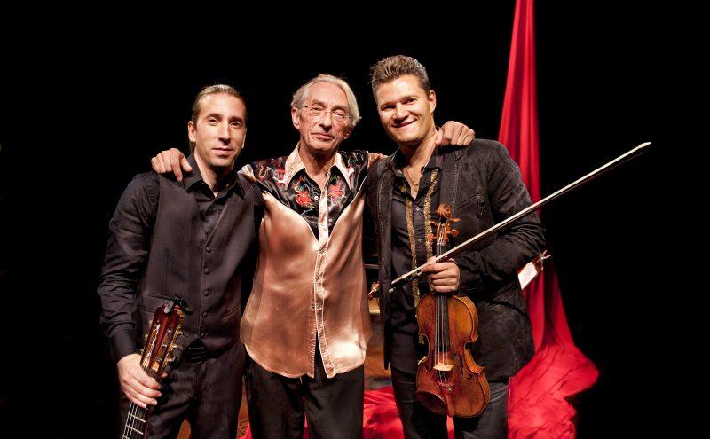 Le Trio Soleil d'Espagne, formé d'Alexandre Éthier, Richard Desjardins et Alexandre Da Costa, sera en prestation le 15 novembre. | © Pierre Crépô