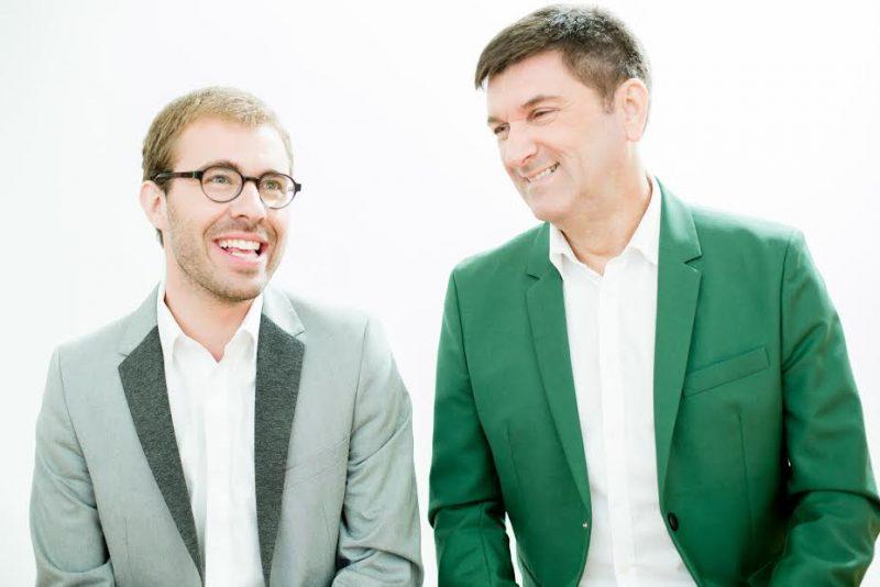Le duo Complètement Baroque, composé de Vincent Lauzer et Luc Beauséjour, offrira un récital le 7 mai. | Photo: Gracieuseté