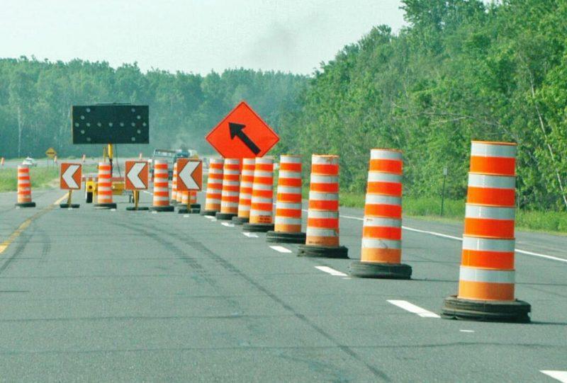 Des travaux routiers auront lieu sur le territoire . | Photo: TC Média - Archives