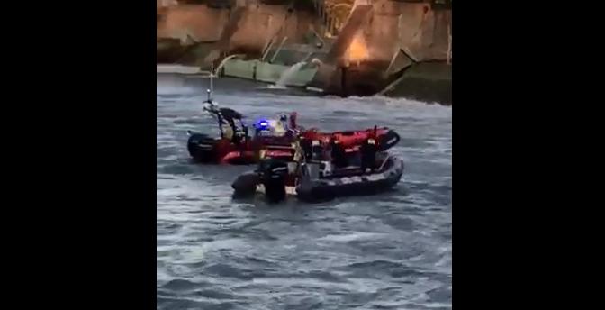 Malgré l'épuisement et les dizaines de minutes passés dans l'eau, Philippe Gervais a été étonné de la vitesse avec laquelle les services d'urgence sont intervenus. | Photo: Gracieuseté