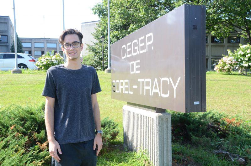 Le président de l'AGEECST, Philippe Clément, a lancé la plateforme de revendications des étudiants. | TC Média - Archives