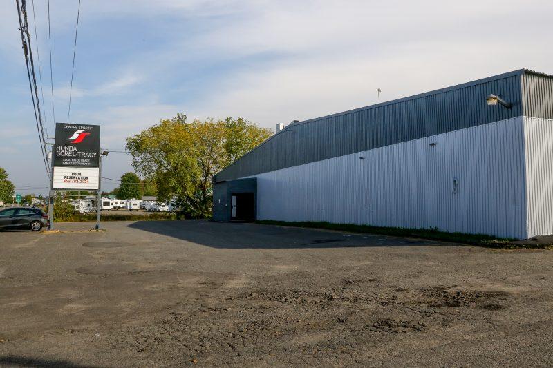 Le Centre sportif Honda Sorel-Tracy a effectué un investissement majeur afin de rénover son bâtiment. | TC Média - Pascal Cournoyer