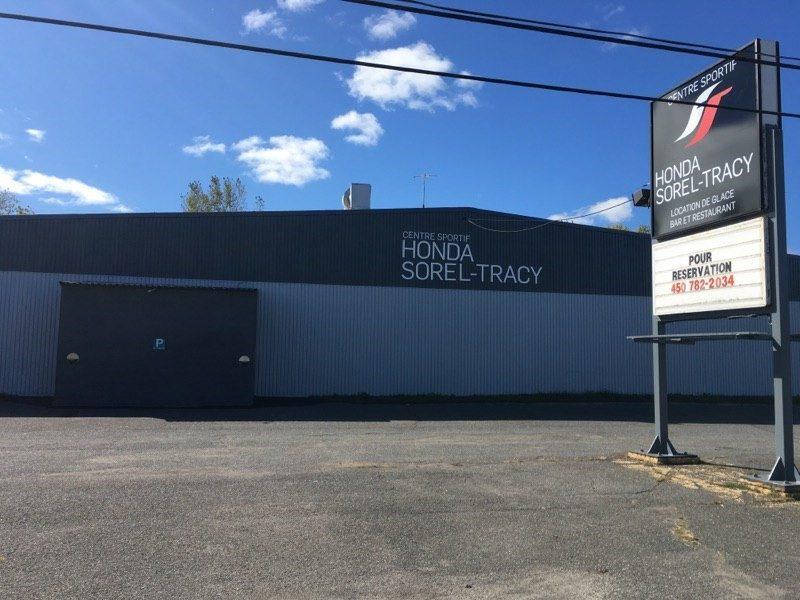 Le Centre sportif Honda Sorel-Tracy a effectué un investissement majeur afin de rénover son bâtiment. | Gracieuseté