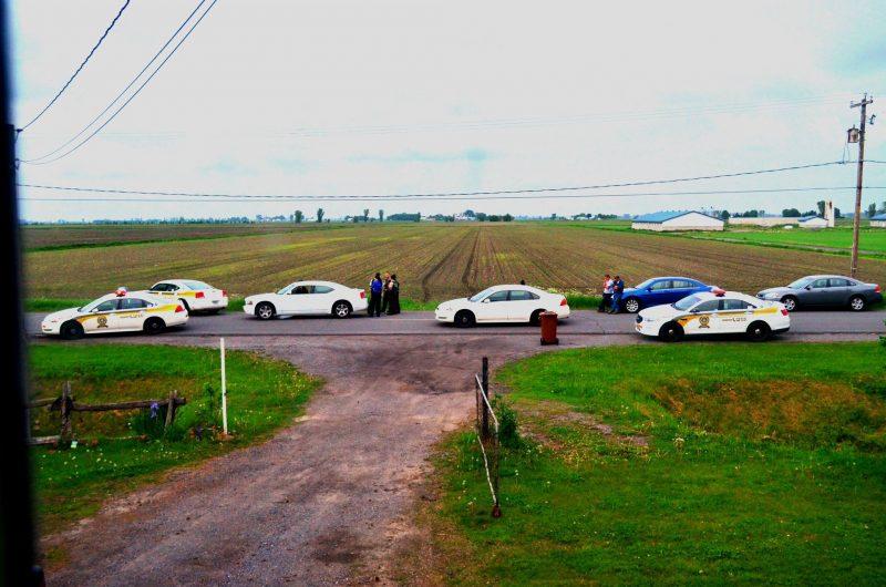 L'incident s'est produit le 5 juin 2014, à Saint-Louis, près de Sainte-Victoire-de-Sorel. | Gracieuseté