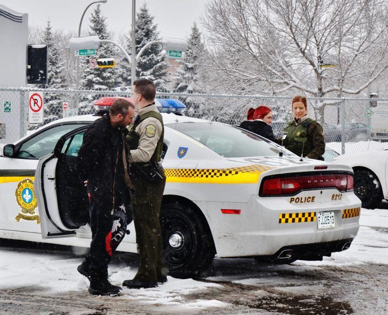 Marc St-Amand et Natasha Ross ont été arrêtés le 28 janvier. | Photo : TC Média – Julie Lambert