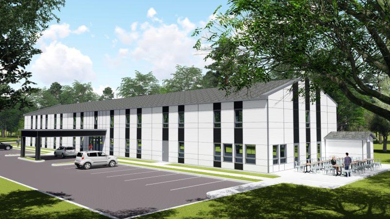Le projet se compose de 48 unités d'habitation. | Gracieuseté