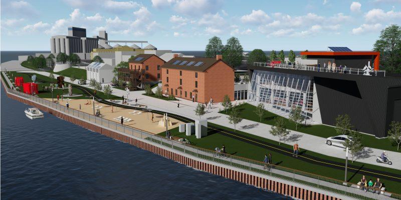 Le projet se nommera Les Chantiers en l'honneur des anciennes activités maritimes à cet endroit.