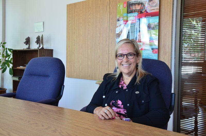 La directrice générale de la Commission scolaire de Sorel-Tracy, Claudine Lachapelle. | Photo: TC Média – Sarah-Eve Charland