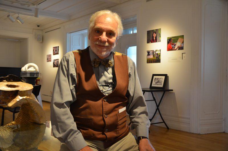L'auteur Louis Caron est grandement impliqué dans Octobre, le mois des mots à Sorel-Tracy. |  © TC Média - Sarah-Eve Charland