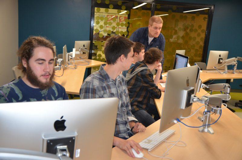 Les locaux HUB serviront au département d'informatique au Cégep de Sorel-Tracy. | TC Média - Sarah-Eve Charland
