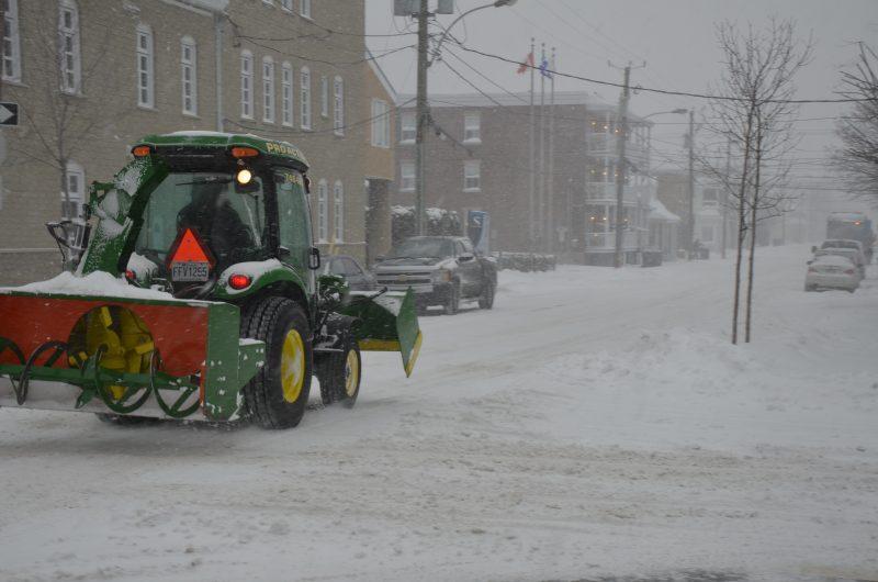 La première tempête hivernale est arrivée dans la région. | TC Média - Sarah-Eve Charland