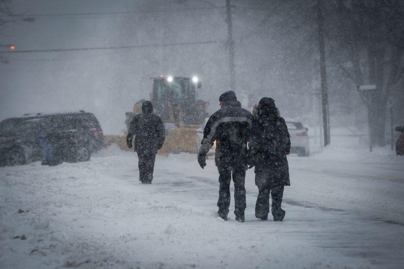 La première tempête de neige est arrivée dans la région. | TC Média - Pascal Cournoyer