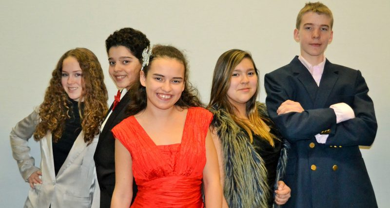 La troupe de comédiens du 31 mars. | Photo: Gracieuseté
