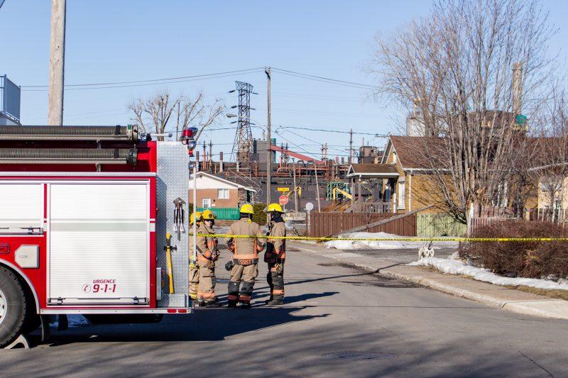 L'explosion au four #9 s'est produite aux alentours de 4h30, jeudi matin. | Photo: Pascal Gagnon