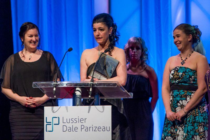 Maude Leblanc a transformé son entreprise Studio Espace Danse en 2016, ce qui lui a valu le prix Audace dans la catégorie Tourisme, loisir et culture - Volet organisme/entreprise. | Pascal Cournoyer