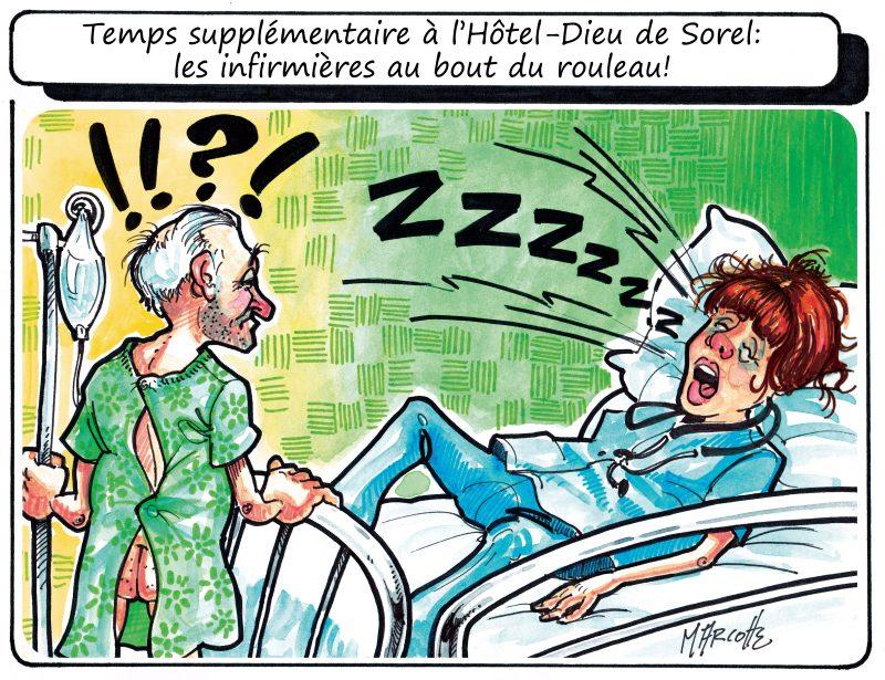 Caricature de Gilles Bill Marcotte en ce 30 juin 2015. | Gilles Bill Marcotte